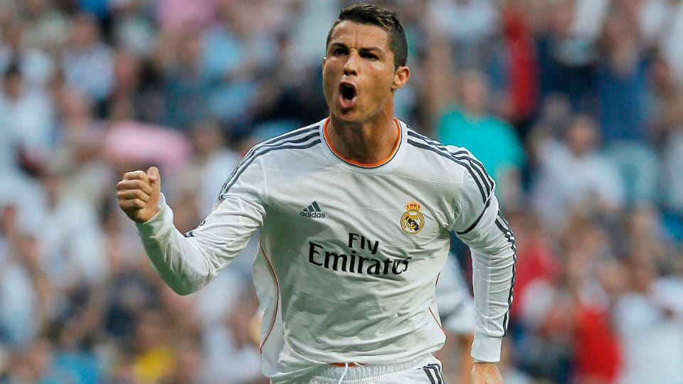 cristino ronaldo real madrid
